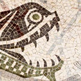 Mosaics In The Oceanographic Museum Of Monaco